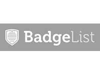 Logo for BadgeList.com