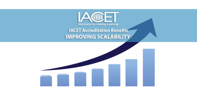 IACET Accreditation Benefits - Improving Scalability image