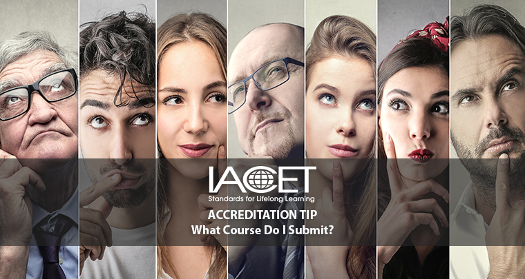 Which of My Courses Do I Show IACET for Accreditation? image