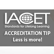 Ensuring a streamlined IACET accreditation review Image