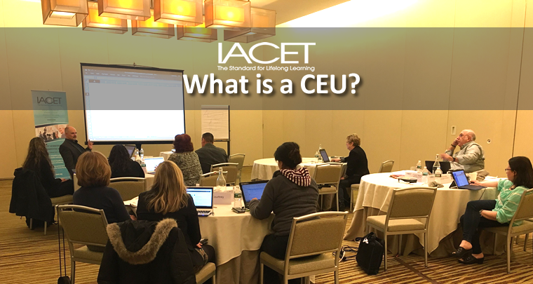 What is a CEU? image